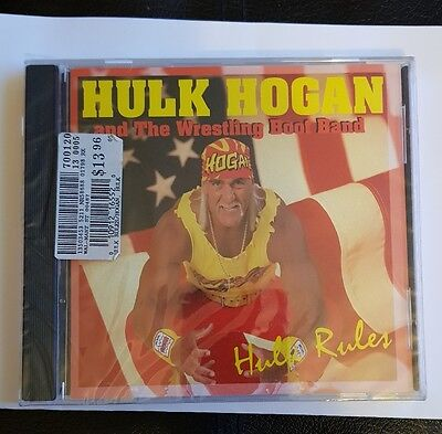 Wwe wwf wcw tna nwa Hulk hogan and the wrestling boot band hulk rules cd