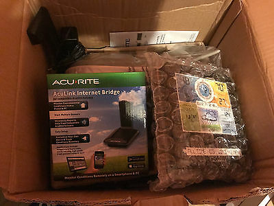 AcuRite 5-in-1 Weather Sensor & PRO+ Weather Sensor, aculink internet bridge