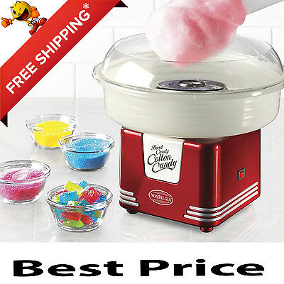 Electric Cotton Candy Maker Commercial Carnival Sugar Floss Machine Kids Part