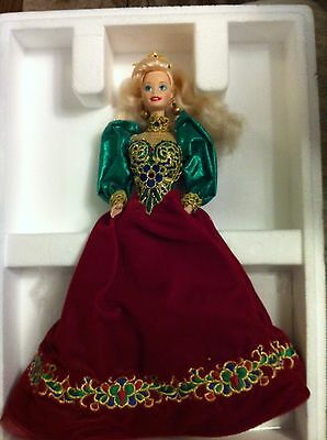 Holiday Jewel Porclein  Barbie Doll  New in Box