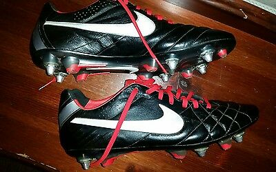 Men's Nike Size 10 Tiempo Legend IV SG-Pro Football Boots Cleats soft ground