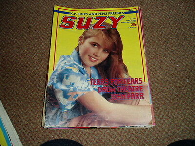 Suzy Comic May 3 1986 Tears For Fears,ghost Story