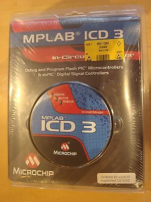 BNIB Microchip MPLAB ICD 3 In Circuit Debugger includes test interface board