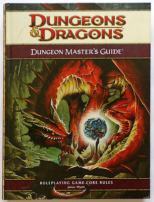 Dungeons & Dragons Dungeon Masters Guide Core Rules 2008 Hardcover