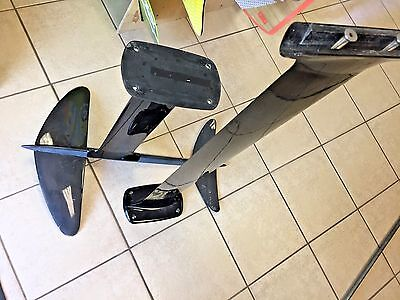 "Lift Osprey Hydrofoil Setup with 24"" mast and Full length mast with wings etc"