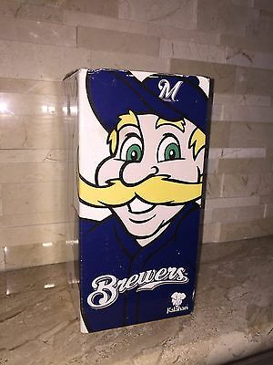 Milwaukee Brewers Bernie Brewer Kalahari Resorts Bobble Head
