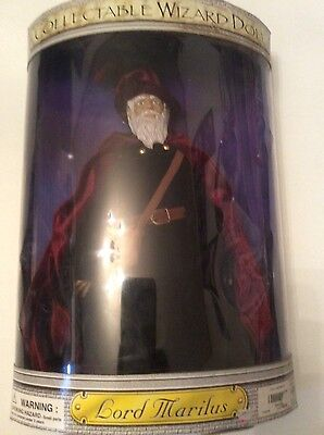 "WIZARD LORD MARILUS COLLECTABLE DOLL 14""  Spencer's  NIB vintage"