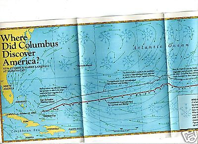 MAP Where did Columbus discover America SAMANA CAY MAP
