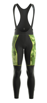 ALE PRR CAMO ROUBAIX MENS SIZE MEDIUM M Alé CYCLING BIB TIGHTS