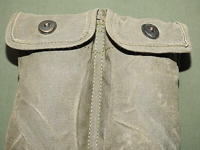 US Air Force USAF Vietnam SECURITY POLICE COLT ARMALITE RUBBERIZED OD AMMO POUCH