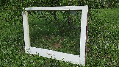VINTAGE SASH ANTIQUE WOOD WINDOW PICTURE FRAME PINTEREST WEDDING 1 PANE 28x20
