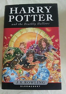 Harry Potter and the Deathly Hallows by J. K. Rowling 1st Edition