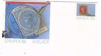 1986 Australia Stampex '86 Adelaide Fdc From Collection 2/6