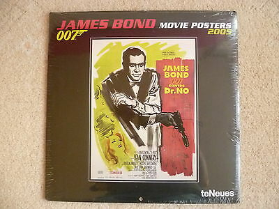 James Bond 2005, original  Calender  from  Switzerland- new and sealed untouched