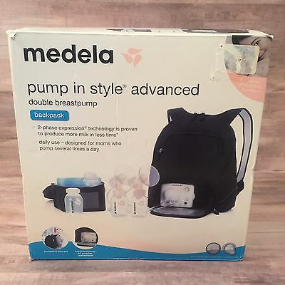 New In Box Medela Pump In Style Advanced Double Breast Pump Backpack