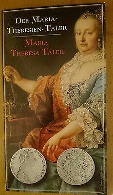 Silver Official Re-strike of the 1780 Maria Theresa Taler - Austrian Mint