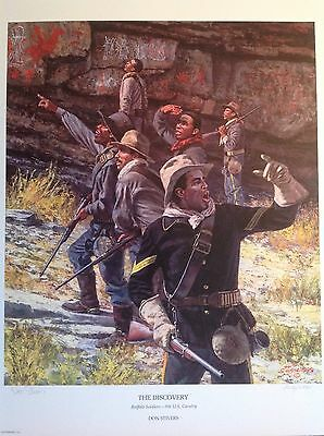 9th CAV Buffalo Soldier limited edition print, Don Stivers, a historic discovery