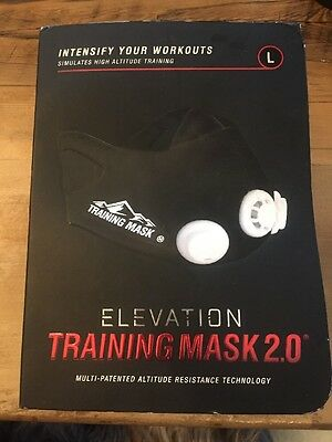 Mask 2.0  High Altitude MMA Fitness - Large 250lbs + for Training