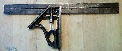 DEFIANCE by Stanley no 1222 12 Made in USA combo square