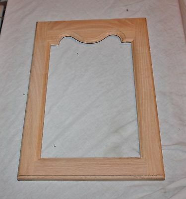 Nice Unfinished Oak Cabinet Door ready for Glass 13x20 ready to Stain
