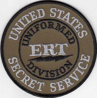 Us Secret Service Ert Emergency Response Team Police Patch District Of Columbia