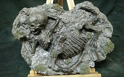 Mummified Centur  Fossil Display,sideshow Gaff,myth,freak,weird,curio,oddity