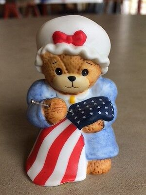 Lucy and Me Bears - Betsy Ross dated 1986 and signed by Lucy Rigg in 1995