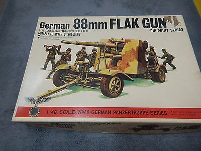 BANDAI 1/48 scale model kit German 88mm Flak Gun (#2)