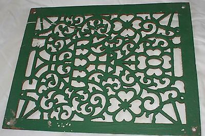 Antique Cast Iron Wall Grate Vent Great Architectural Design
