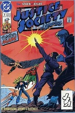 Justice Society of America #7 (Oct 1991, DC) VF COMIC BOOK