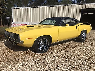 1970 Plymouth Barracuda  1970 Plymouth Barracuda Cuda 318 Auto Rallye Gauges 340 Auto 17's Beautiful Car!