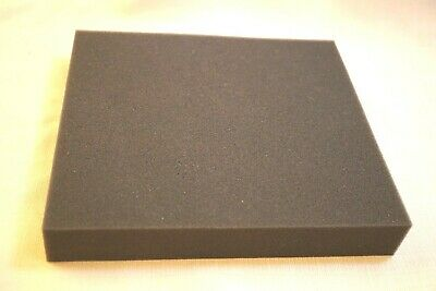 """Recycled foam packing shipping gray 3/4"""" protection pad medium-high density 7x14"""