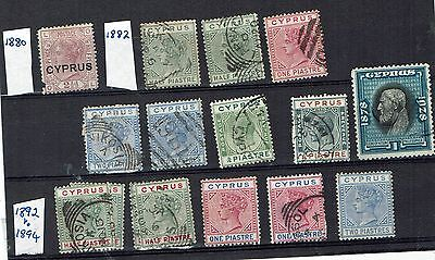 Cyprus good older mixed used collection