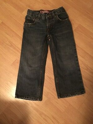 LEVIS KIDS 549 Relaxed Straight Regular Fit Cotton Jeans SIZE 4