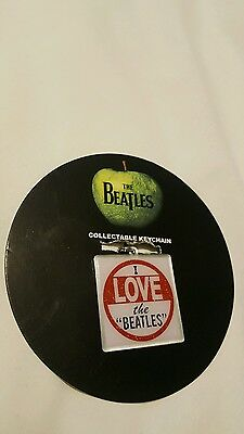The Beatles Keyring Keychain I Love the Beatles new Official One Size