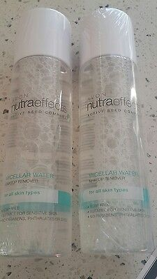avon make up remover nutra effects micellar water 2 x 150ml bottles