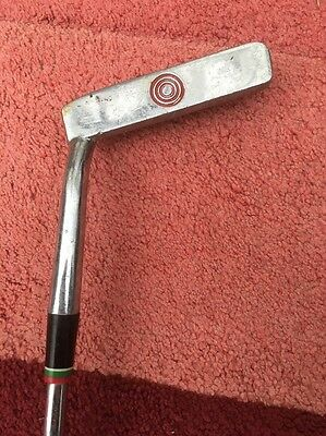 Vintage Golf Putter Pro Only On Grip And Red Target On Club Face