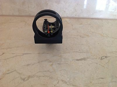 fibre optic aiming bow sight device compound recurve longbow NEW (no torch inc)