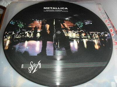 Metallica - S & M - Awesome Rare Ltd Edition Picture Lp Brazil Press Megadeth