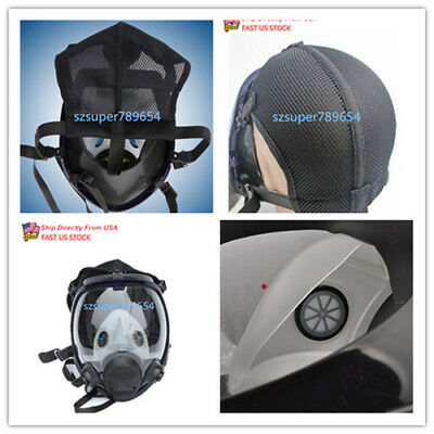 For 3M 6800 Facepiece Respirator Full Face Painting Spraying Gas Mask Similar US