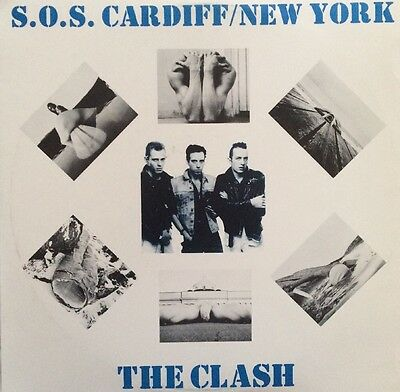 The Clash S.o.s. Cardiff/new York Live 1977/1981 Double L.p.