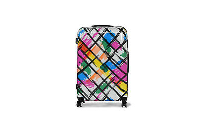"28"" Multi Suitcase Lightweight 4 Wheel Spinner Hard Shell Luggage Cabin Case"