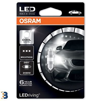 Osram Festoon Cool White 31mm C5W 269 12V LEDriving Interior lighting 6497CW-01B