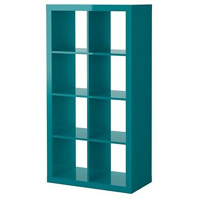 expedit ikea Cube 2x4 Unit Teal Hard To Come By Hardly Used