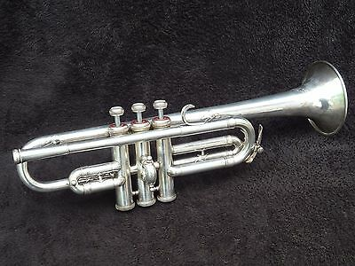 "Wonderful Scherzer D Trumpet "" Prof.a.piechler"" Model Adolf Scherbaum's Choice"