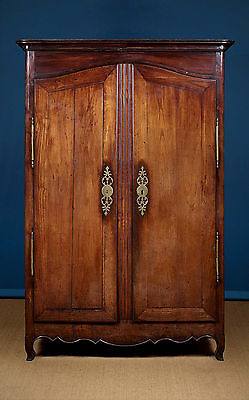 Antique 19th.c. French Oak Armoire Or Wardrobe c.1800