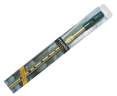 FEADOG IRISH TIN WHISTLE D w INSTRUCTION BOOKLET REAL INSTRUMENT FAST DELIVERY