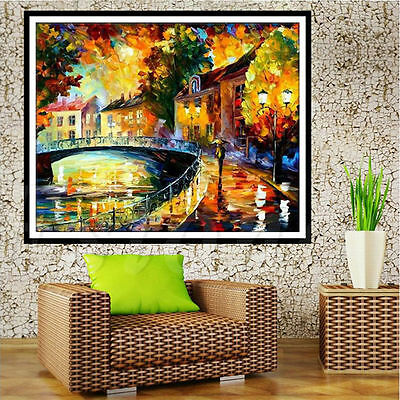 5D Diamond Painting Abstract Embroidery Cross Crafts Stitch Home DIY Decor