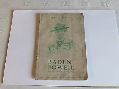 The Story of Baden-Powell The Boy Scouts Association Book