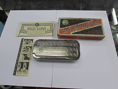 Vintage Rolls Razor Imperial No 2 with original box and instructions
